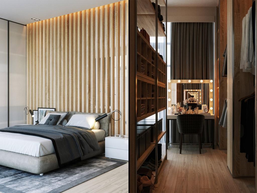 Дизайн-проект квартиры в ЖК Vander Park
